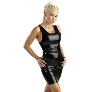Latex Minidress von The Latex Collection