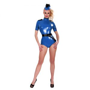 GP Datex Sexy Polizeiuniform Blau