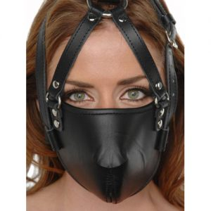 Strict Leather Face Harness