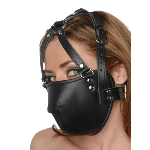 Strict Leather Face Harness1