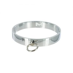 Chrome Slave Collar - Medium/Large